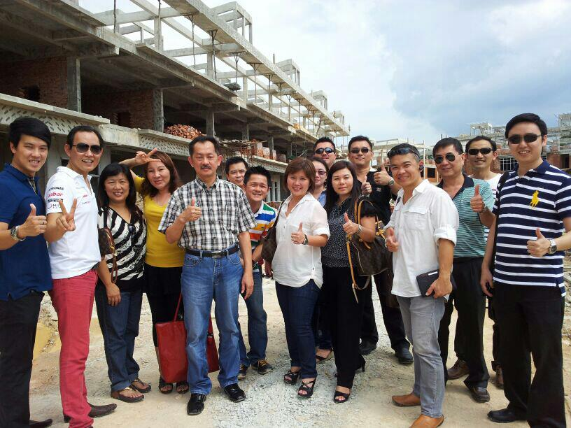 Iskandar Property Trip Group Photo