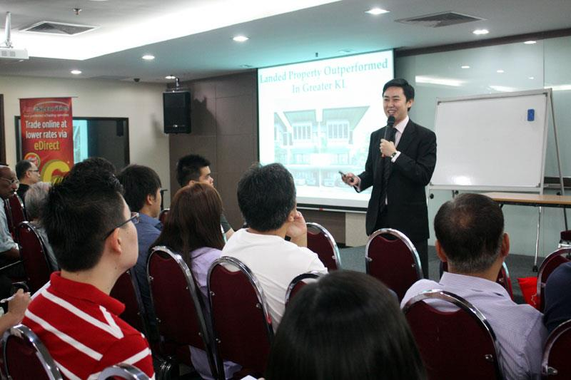 Jeffery Lam at AmInvestment & SIC Seminar